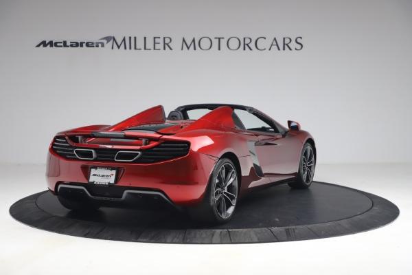 Used 2013 McLaren MP4-12C Spider for sale $134,900 at Bugatti of Greenwich in Greenwich CT 06830 7