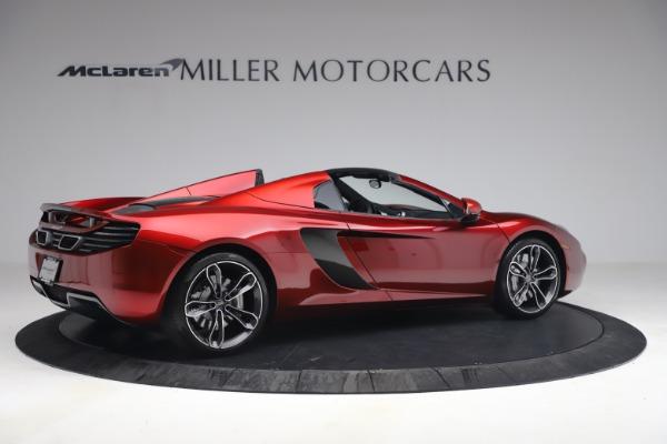 Used 2013 McLaren MP4-12C Spider for sale $134,900 at Bugatti of Greenwich in Greenwich CT 06830 8