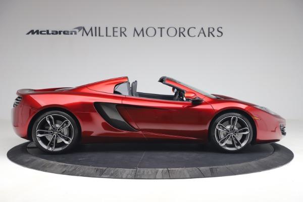 Used 2013 McLaren MP4-12C Spider for sale $134,900 at Bugatti of Greenwich in Greenwich CT 06830 9