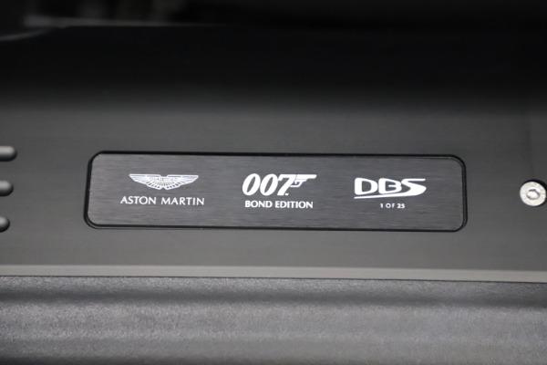 New 2021 Aston Martin DBS Superleggera 007 for sale $391,211 at Bugatti of Greenwich in Greenwich CT 06830 19
