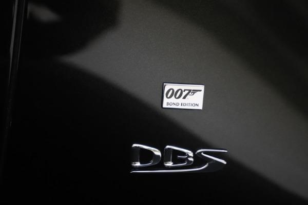 New 2021 Aston Martin DBS Superleggera 007 for sale $391,211 at Bugatti of Greenwich in Greenwich CT 06830 26