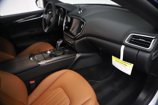 New 2021 Maserati Ghibli SQ4 for sale $85,804 at Bugatti of Greenwich in Greenwich CT 06830 23