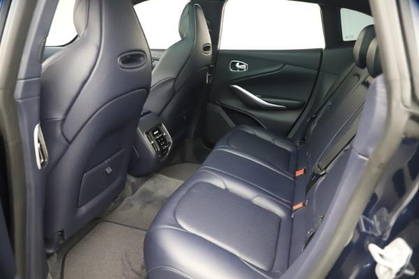 New 2021 Aston Martin DBX for sale $195,786 at Bugatti of Greenwich in Greenwich CT 06830 18