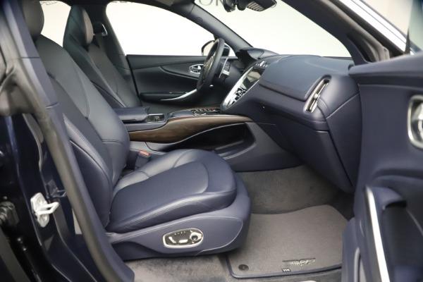 New 2021 Aston Martin DBX for sale $195,786 at Bugatti of Greenwich in Greenwich CT 06830 21