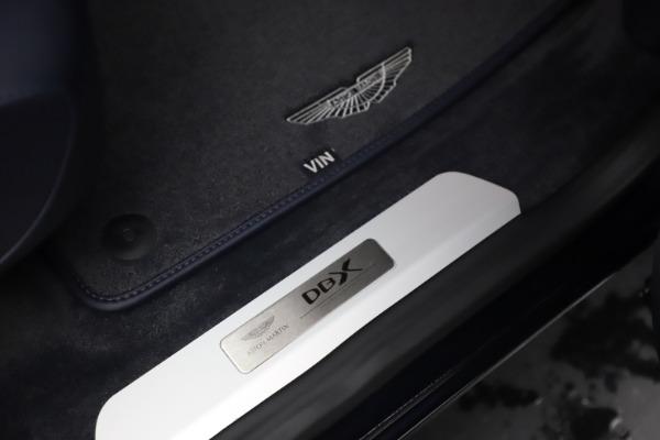 New 2021 Aston Martin DBX for sale $195,786 at Bugatti of Greenwich in Greenwich CT 06830 24