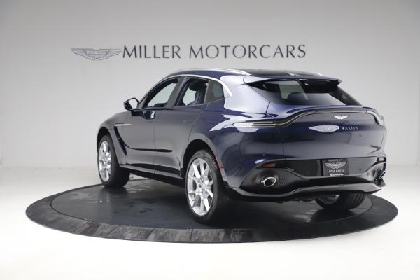 New 2021 Aston Martin DBX for sale $195,786 at Bugatti of Greenwich in Greenwich CT 06830 4