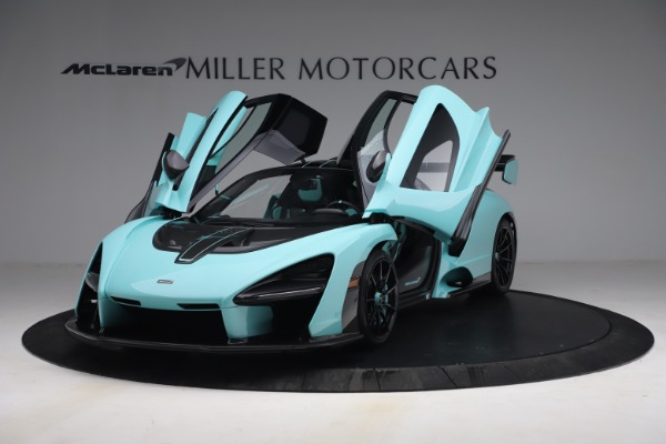 Used 2019 McLaren Senna for sale Sold at Bugatti of Greenwich in Greenwich CT 06830 14