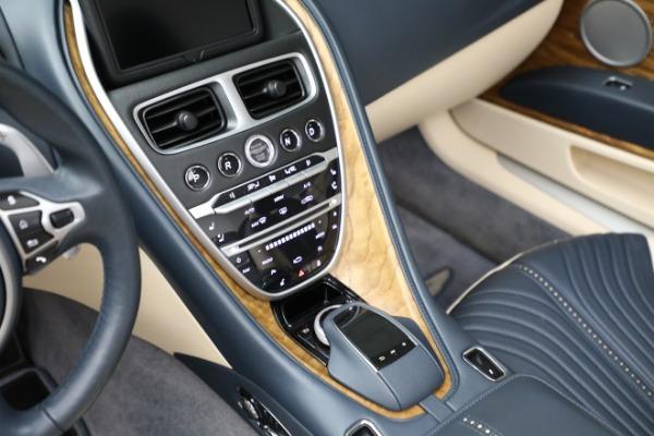 Used 2019 Aston Martin DB11 Volante for sale $209,900 at Bugatti of Greenwich in Greenwich CT 06830 18