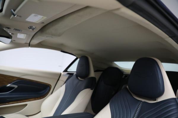 Used 2019 Aston Martin DB11 Volante for sale $209,900 at Bugatti of Greenwich in Greenwich CT 06830 22