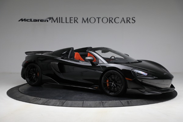 Used 2020 McLaren 600LT Spider for sale Call for price at Bugatti of Greenwich in Greenwich CT 06830 10