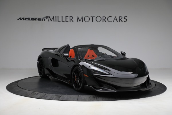 Used 2020 McLaren 600LT Spider for sale Call for price at Bugatti of Greenwich in Greenwich CT 06830 11