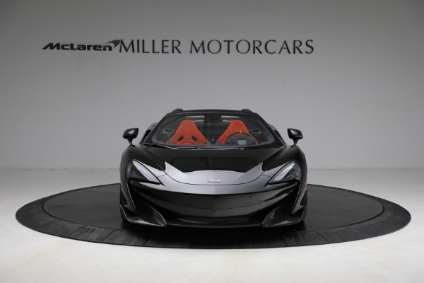 Used 2020 McLaren 600LT Spider for sale Call for price at Bugatti of Greenwich in Greenwich CT 06830 12