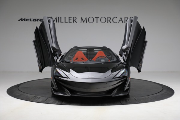 Used 2020 McLaren 600LT Spider for sale Call for price at Bugatti of Greenwich in Greenwich CT 06830 13