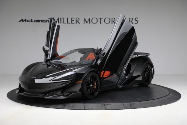 Used 2020 McLaren 600LT Spider for sale Call for price at Bugatti of Greenwich in Greenwich CT 06830 14