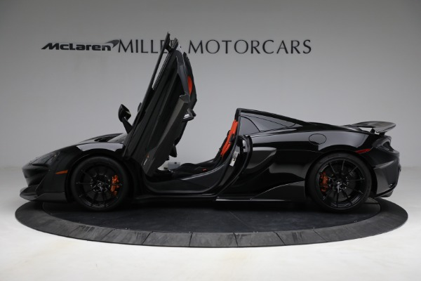 Used 2020 McLaren 600LT Spider for sale Call for price at Bugatti of Greenwich in Greenwich CT 06830 15