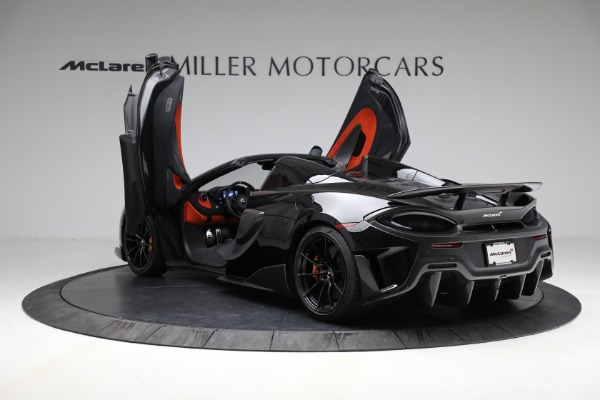 Used 2020 McLaren 600LT Spider for sale Call for price at Bugatti of Greenwich in Greenwich CT 06830 16