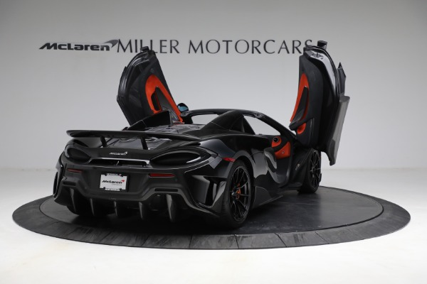 Used 2020 McLaren 600LT Spider for sale Call for price at Bugatti of Greenwich in Greenwich CT 06830 17