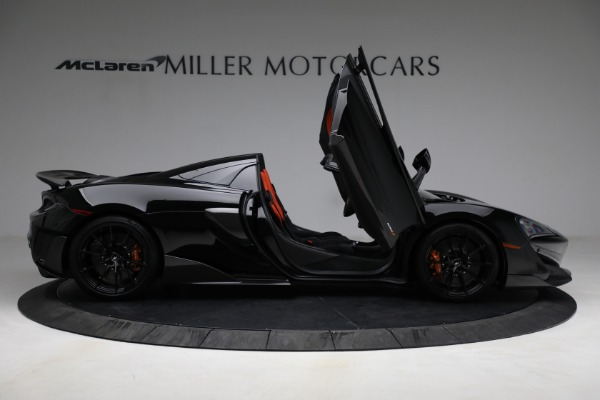 Used 2020 McLaren 600LT Spider for sale Call for price at Bugatti of Greenwich in Greenwich CT 06830 18