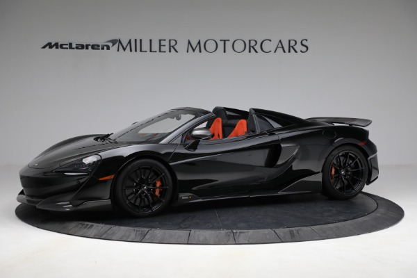 Used 2020 McLaren 600LT Spider for sale Call for price at Bugatti of Greenwich in Greenwich CT 06830 2