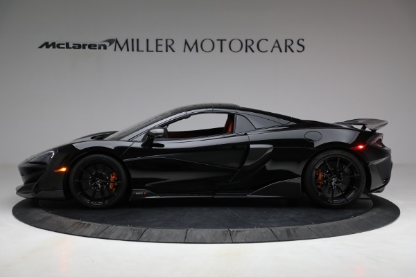 Used 2020 McLaren 600LT Spider for sale Call for price at Bugatti of Greenwich in Greenwich CT 06830 21