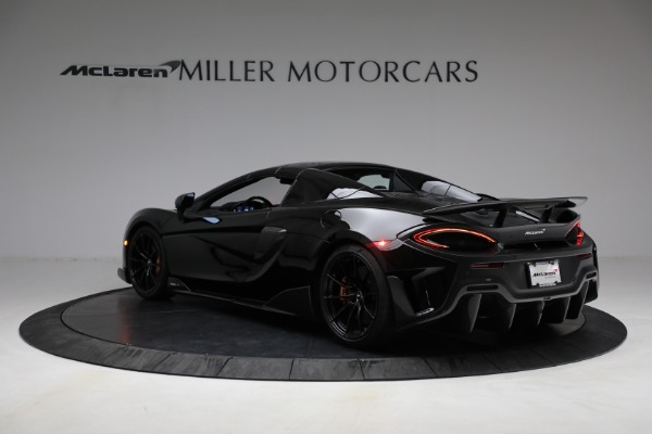 Used 2020 McLaren 600LT Spider for sale Call for price at Bugatti of Greenwich in Greenwich CT 06830 22