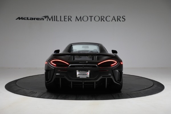 Used 2020 McLaren 600LT Spider for sale Call for price at Bugatti of Greenwich in Greenwich CT 06830 23