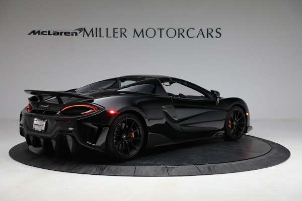 Used 2020 McLaren 600LT Spider for sale Call for price at Bugatti of Greenwich in Greenwich CT 06830 24