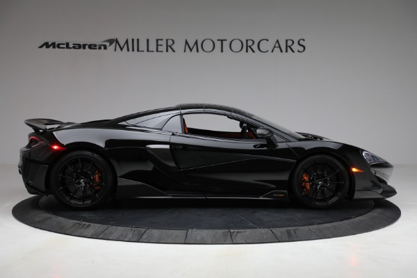 Used 2020 McLaren 600LT Spider for sale Call for price at Bugatti of Greenwich in Greenwich CT 06830 25