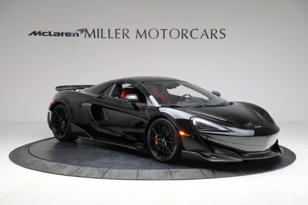 Used 2020 McLaren 600LT Spider for sale Call for price at Bugatti of Greenwich in Greenwich CT 06830 26