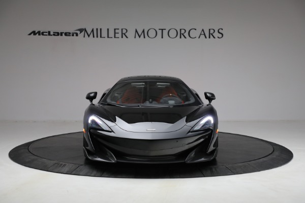 Used 2020 McLaren 600LT Spider for sale Call for price at Bugatti of Greenwich in Greenwich CT 06830 27
