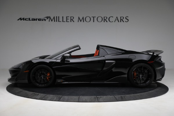Used 2020 McLaren 600LT Spider for sale Call for price at Bugatti of Greenwich in Greenwich CT 06830 3