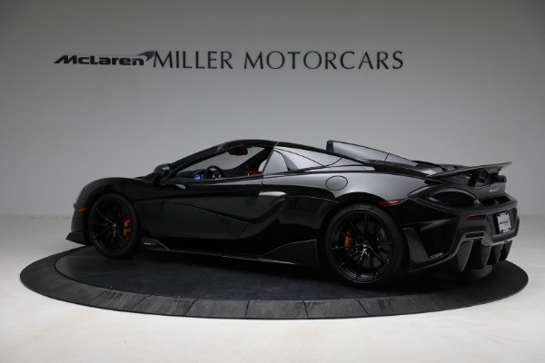 Used 2020 McLaren 600LT Spider for sale Call for price at Bugatti of Greenwich in Greenwich CT 06830 4