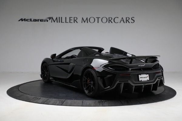 Used 2020 McLaren 600LT Spider for sale Call for price at Bugatti of Greenwich in Greenwich CT 06830 5