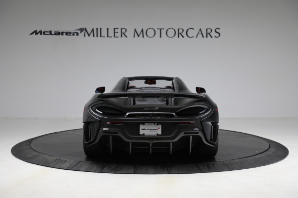 Used 2020 McLaren 600LT Spider for sale Call for price at Bugatti of Greenwich in Greenwich CT 06830 6