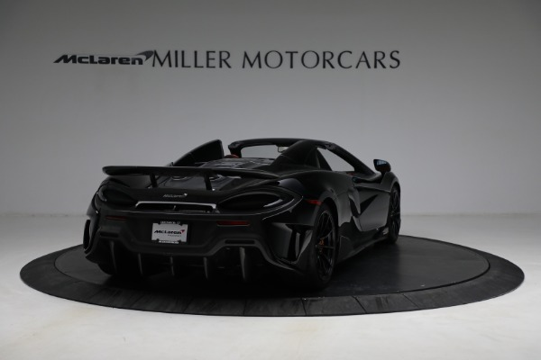 Used 2020 McLaren 600LT Spider for sale Call for price at Bugatti of Greenwich in Greenwich CT 06830 7