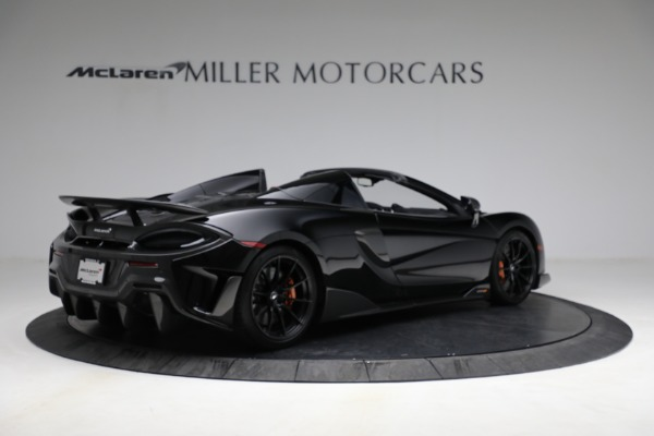 Used 2020 McLaren 600LT Spider for sale Call for price at Bugatti of Greenwich in Greenwich CT 06830 8