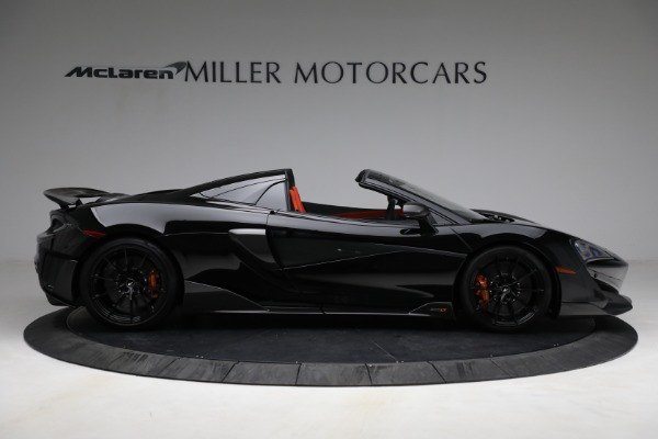Used 2020 McLaren 600LT Spider for sale Call for price at Bugatti of Greenwich in Greenwich CT 06830 9