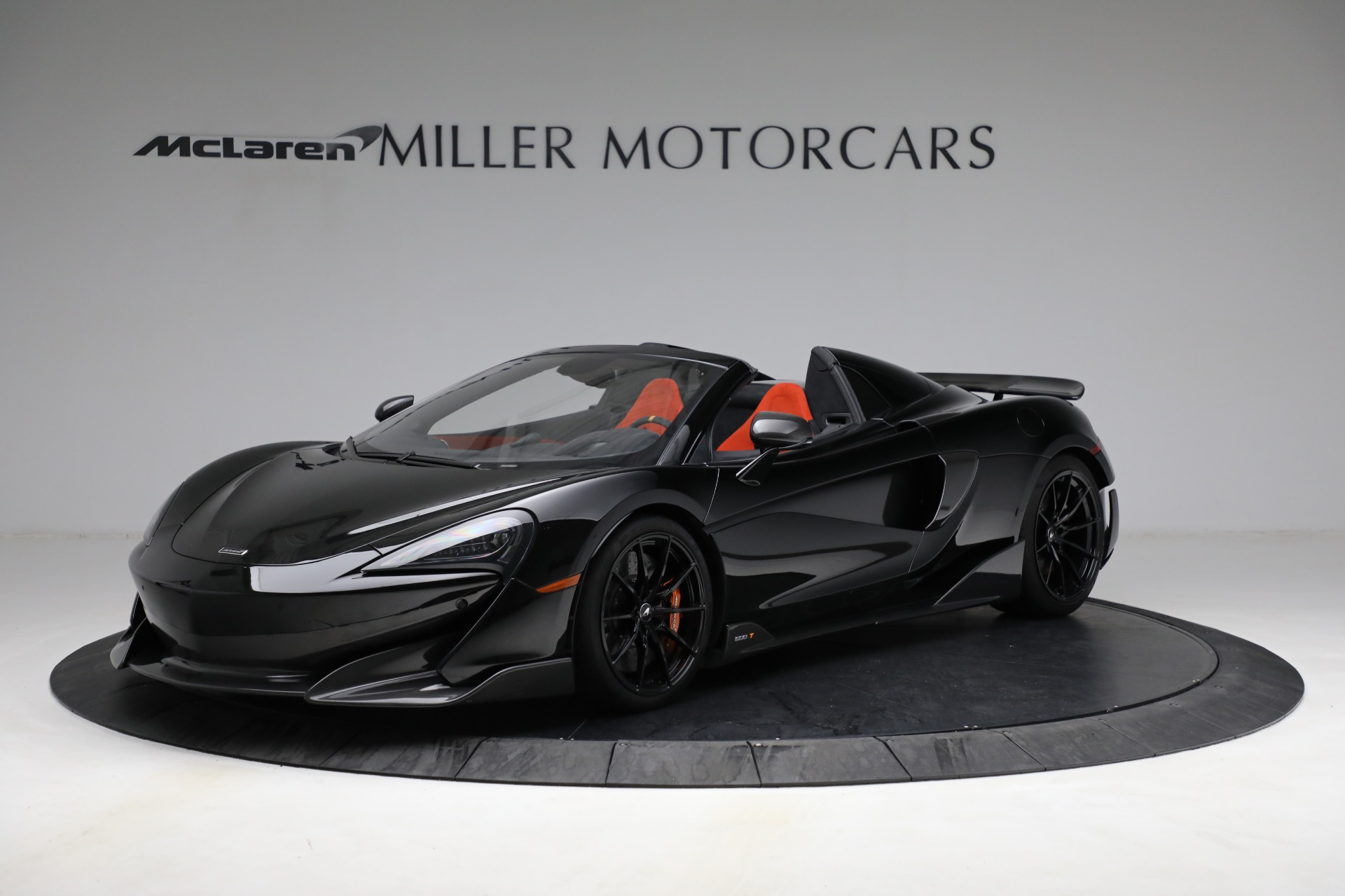 Used 2020 McLaren 600LT Spider for sale Call for price at Bugatti of Greenwich in Greenwich CT 06830 1