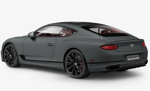 New 2022 Bentley Continental GT Speed for sale Call for price at Bugatti of Greenwich in Greenwich CT 06830 3