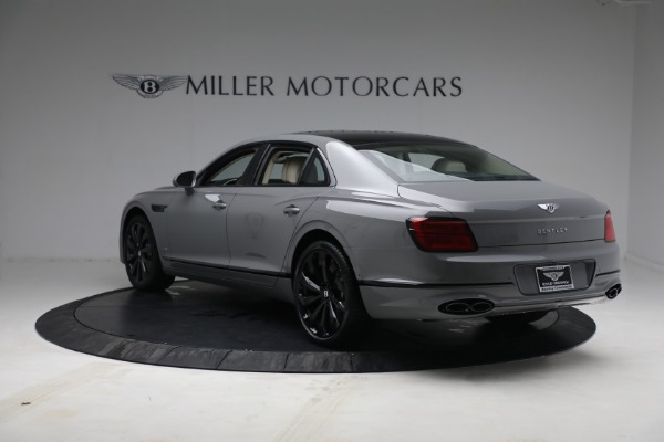 New 2022 Bentley Flying Spur Flying Spur V8 for sale Call for price at Bugatti of Greenwich in Greenwich CT 06830 5