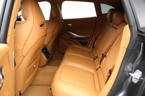 New 2021 Aston Martin DBX for sale $203,886 at Bugatti of Greenwich in Greenwich CT 06830 15