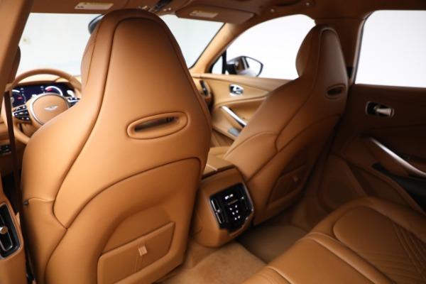 New 2021 Aston Martin DBX for sale $203,886 at Bugatti of Greenwich in Greenwich CT 06830 16