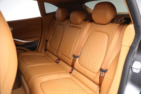 New 2021 Aston Martin DBX for sale $203,886 at Bugatti of Greenwich in Greenwich CT 06830 17