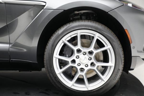 New 2021 Aston Martin DBX for sale $203,886 at Bugatti of Greenwich in Greenwich CT 06830 20
