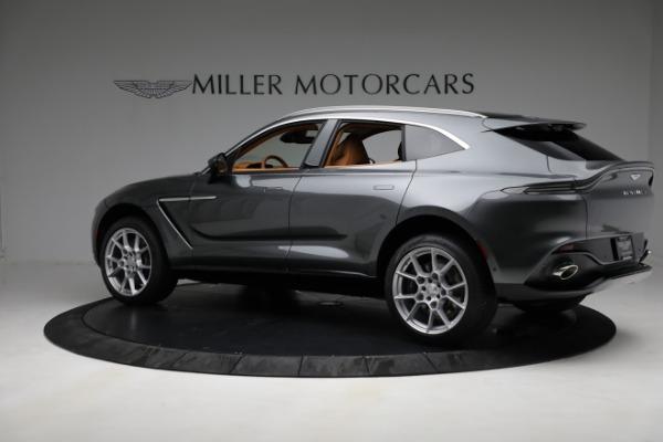 New 2021 Aston Martin DBX for sale $203,886 at Bugatti of Greenwich in Greenwich CT 06830 3