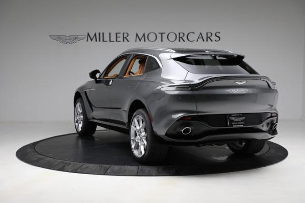 New 2021 Aston Martin DBX for sale $203,886 at Bugatti of Greenwich in Greenwich CT 06830 4