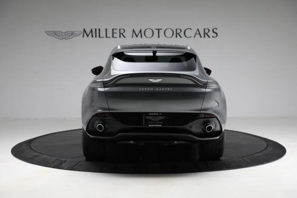 New 2021 Aston Martin DBX for sale $203,886 at Bugatti of Greenwich in Greenwich CT 06830 5