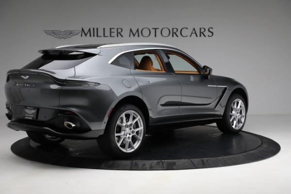 New 2021 Aston Martin DBX for sale $203,886 at Bugatti of Greenwich in Greenwich CT 06830 7