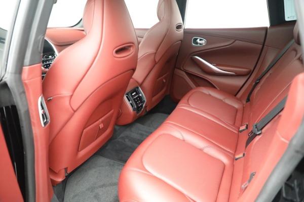 New 2021 Aston Martin DBX for sale $200,686 at Bugatti of Greenwich in Greenwich CT 06830 17