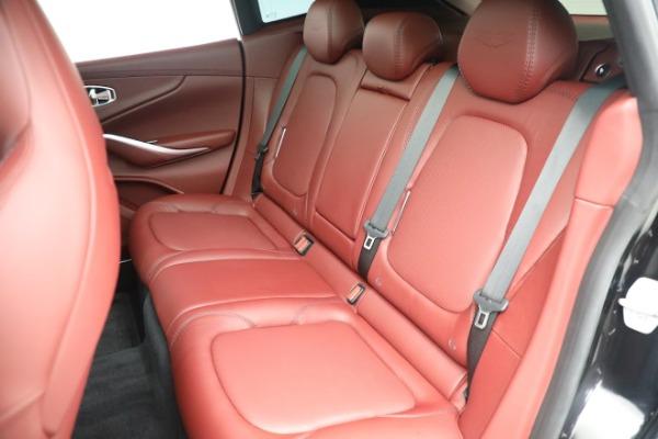 New 2021 Aston Martin DBX for sale $200,686 at Bugatti of Greenwich in Greenwich CT 06830 18